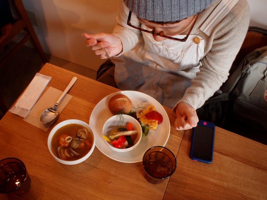 絶品の魚貝スープ