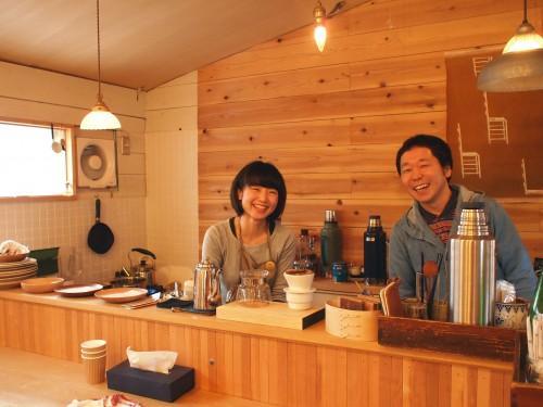ISANA中川夫婦。いつも仲良く笑顔。