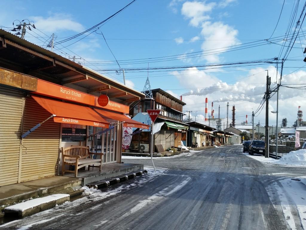 2016.2.7 雪の轍もイイね!