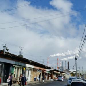 2016.2.7 空・雲・長屋・煙突