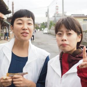 ベテランサポーターなっちゃん&あさちゃん